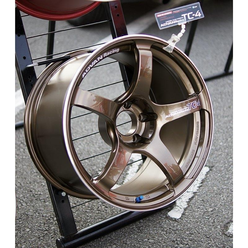 Advan Racing TC-4 18x9.5 +35 5-114.3 | Umber Bronze and Ring (15+ WRX STI) |