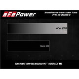 "aFe Power 2020+ Toyota Supra 3.0L A90 BladeRunner 2.5"" - 3"" Hot Side Intercooler Tube (afe46-20398-B)"