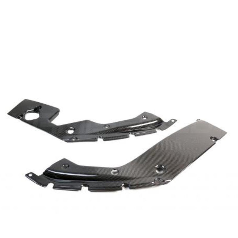 APR Performance Carbon Fiber Engine Side Panels | 17+ Honda Civic Type R (CF-917020)