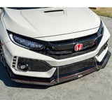 APR Performance Carbon Fiber Front Splitter | 17+ Honda Civic Type R (CW-917022) |