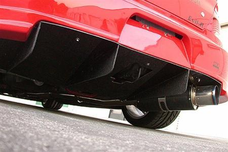 APR Performance Carbon Fiber Rear Diffuser Evolution EVil-R Kit only