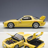 AUTOart 1:18 Die Cast Model of the Initial D RedSun RX-7 FD3S