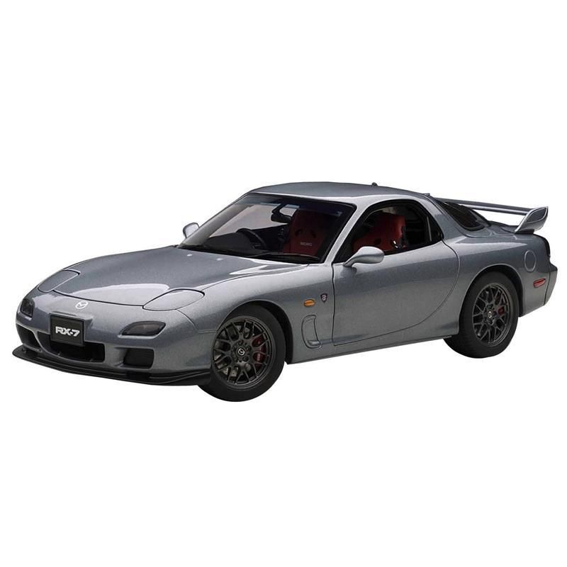 AUTOart 1/18 Mazda RX7 FD Spirit R Type A in Titanium Gray Metallic