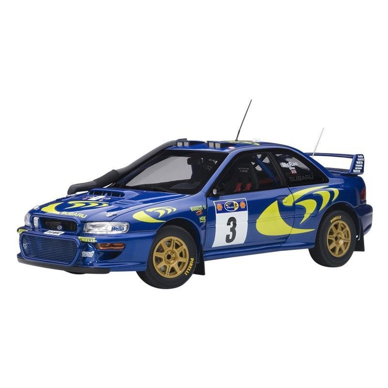 AUTOart 1/18 Subaru Impreza WRC 1997 #3, Colin McRoe/Nicky Grist, Rally of Safari