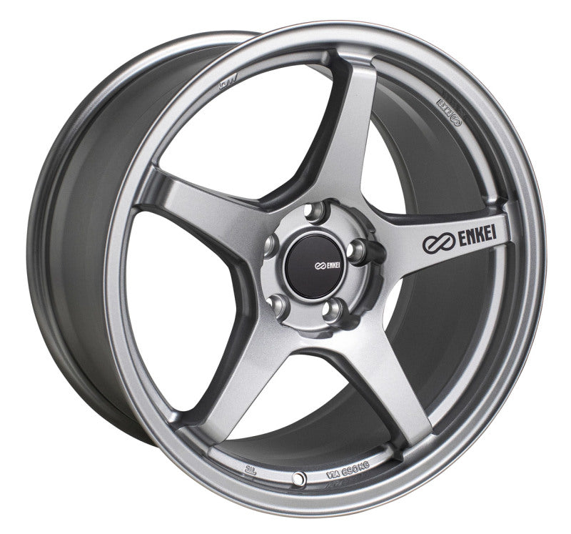 Enkei TS-5 17x8 5x100 45mm Offset 72.6mm Bore Storm Grey