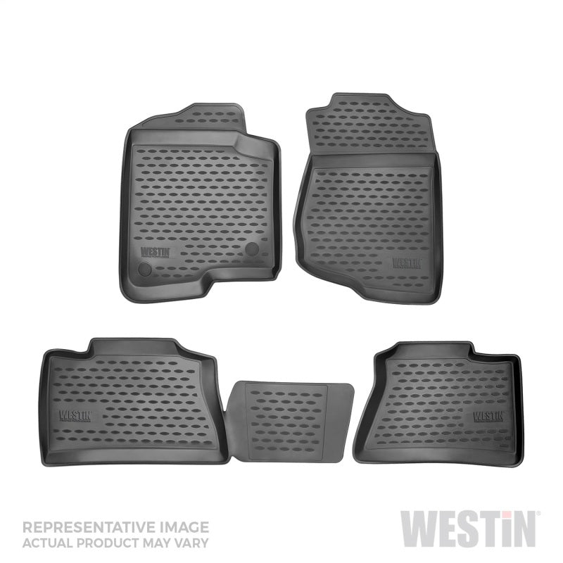 Westin 2009-2017 Toyota 4Runner Profile Floor Liners 4pc - Black