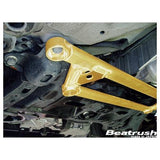 Beatrush Front Member Support Bar for the Honda CR-Z, Fit, and Insight