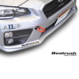 Beatrush Front Red Tow Hook for 2015+ Subaru WRX & WRX STI