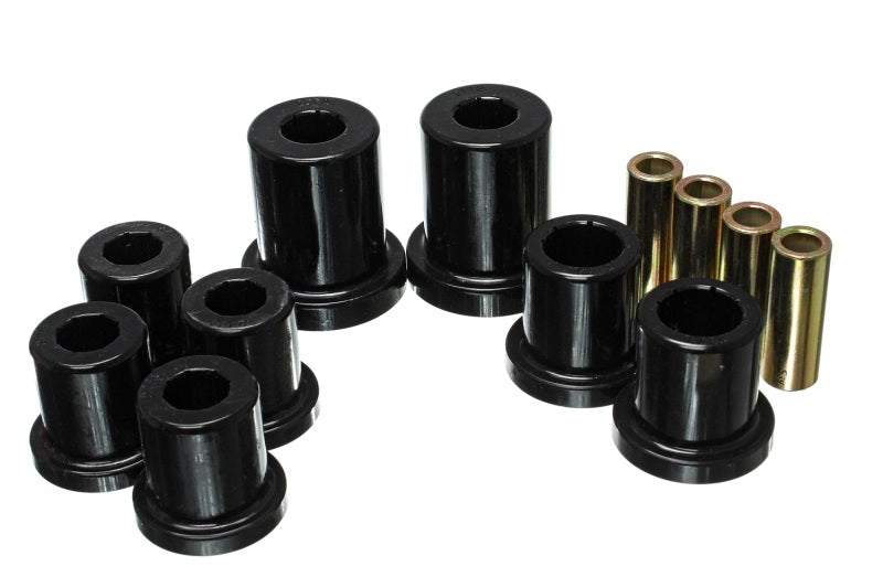 Energy Suspension 03-09 Lexus GX470 / 03-09 Toyota 4Runner 2WD/4WD Blk Front Control Arm Bushing Set