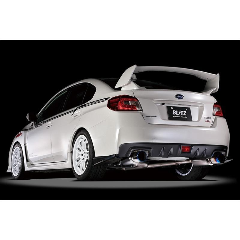 Blitz Nur-Spec F-Ti Cat-Back Exhaust for 2015+ Subaru WRX and WRX STI
