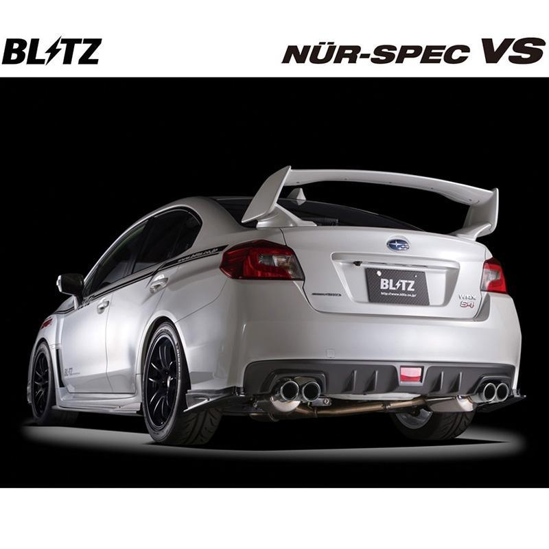Blitz Nur-Spec VS Cat-Back Exhaust for 2015+ Subaru WRX & WRX STI