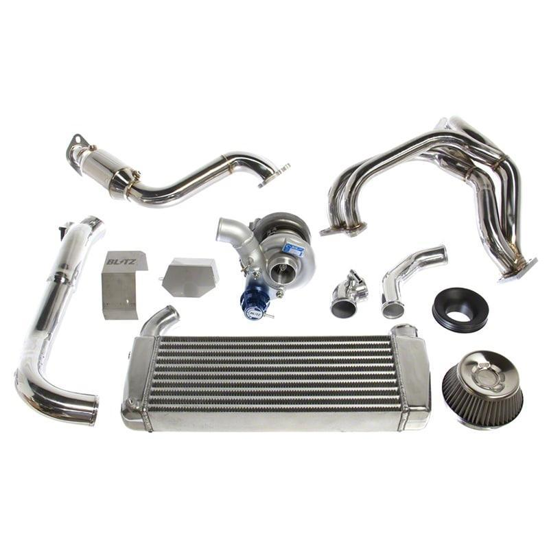 Blitz Power Turbo System Kit with Cat for 17+ Toyota 86, 13+ Subaru BRZ, & 13-16 Scion FR-S