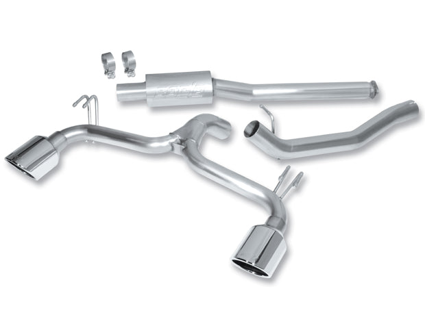 Borla Cat-Back Exhaust for 09-17 Lancer Ralliart