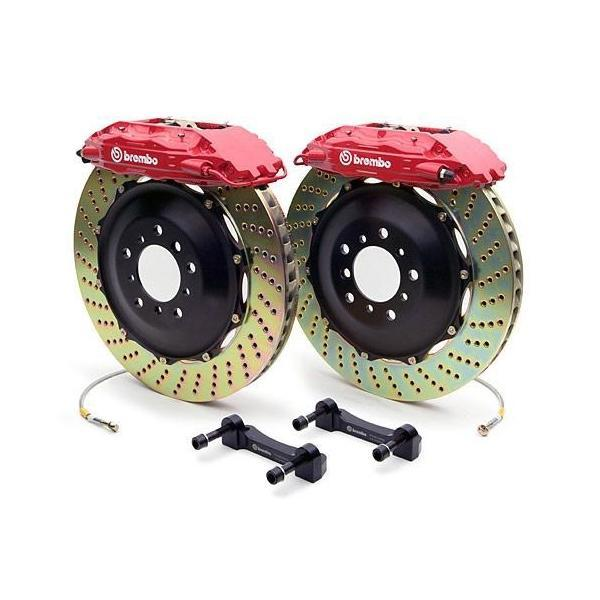 Brembo Gran Turismo Front Big Brake Kit for the Honda CR-Z (Cross Drilled)