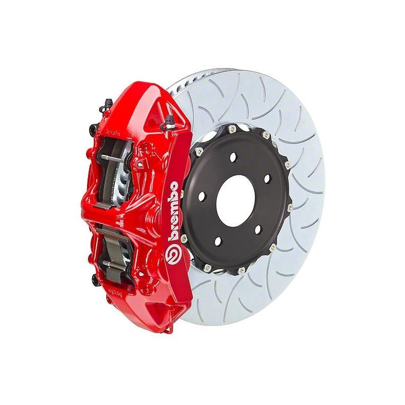 Brembo Gran Turismo 6-Piston Red Front Big Brake Kit for 2015+ Subaru WRX STI (Type III Rotor)