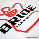 Bride Holding Monster Shirt