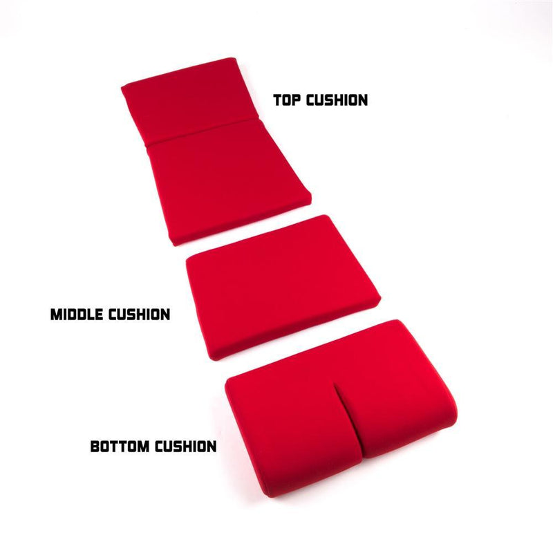 Bride Middle Cushion (Red) - Full Bucket Seats