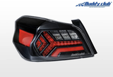 Buddy Club Sequential LED Tail Lamps for 2015+ WRX & STi
