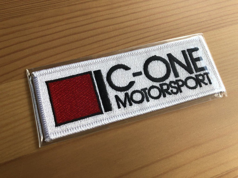 C-ONE Coat Badge (Wappen) - White