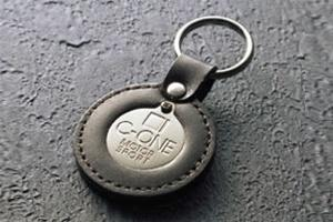 C-ONE Leather Make Keyholder Metal/ Leather