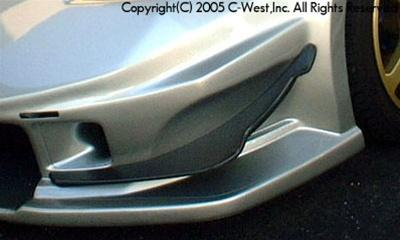 C-West Front Canard For Long Nose PPCC Z33 350Z