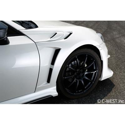 C-West Front FRP Fenders for 13-16 FR-S / 13+ BRZ / 17+ 86