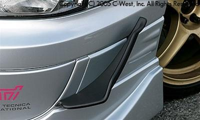 C-West Hole Concealment for STI Bumper (Kouki) FRP STI GDB 04-05