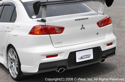 C-West Rear Bumper PFRP Evolution 10 CZ4A
