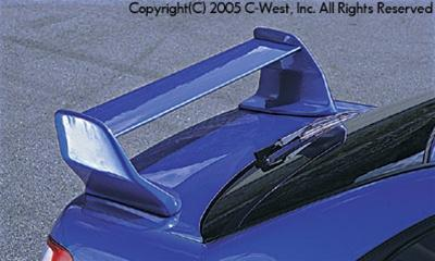 C-West Rear Spoiler FRP WRX/ STI 02-07