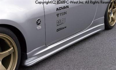 C-West Side Skirt PFRP Z33 350Z