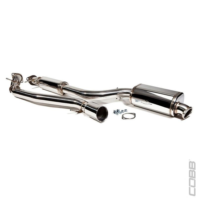 Cobb Tuning Cat-Back Exhaust - Mazdaspeed3 07-09