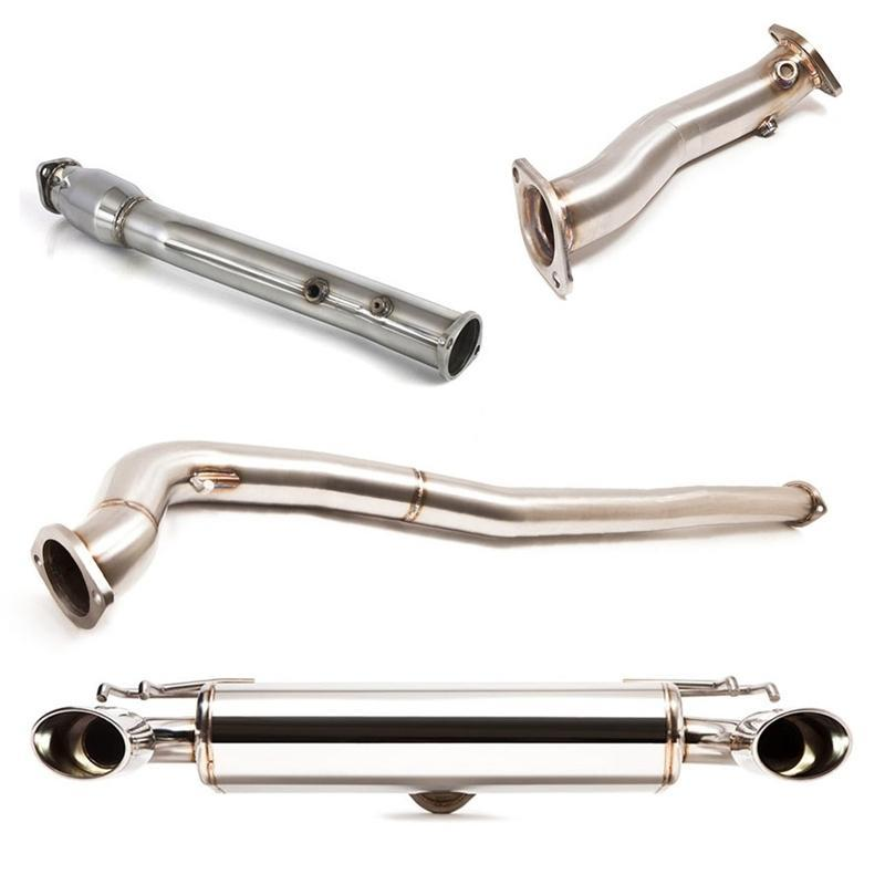 Cobb Tuning Turboback Exhaust w/ Oval Tip Cat-back - EVO X 08-14