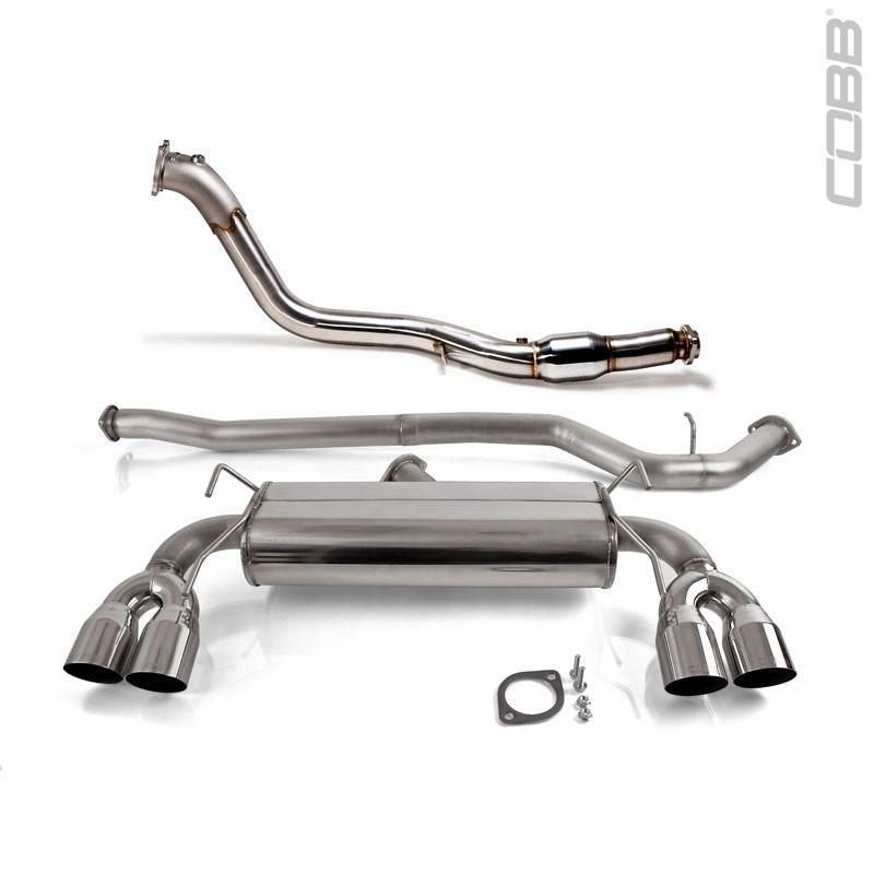 Cobb Tuning Turboback Exhaust - WRX 11-13 & STI 08-13