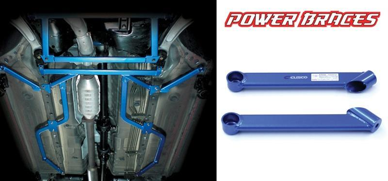 Cusco Front Side Power Brace for Mitsubishi Evolution 8/9 CT9A