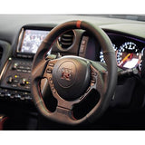 Cyber Engineering D-Shape Steering Wheel for the Nissan GT-R R35