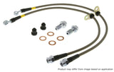 StopTech 11-15 Honda CR-Z / 09-14 Honda Fit Stainless Steel Front Brake Lines
