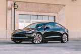 Rally Armor 17+ Tesla Model 3 UR Black Mud Flap w/ White Logo