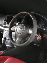 Damd Carbon O-Shaped Steering Wheel WRX STi 08-14 GV