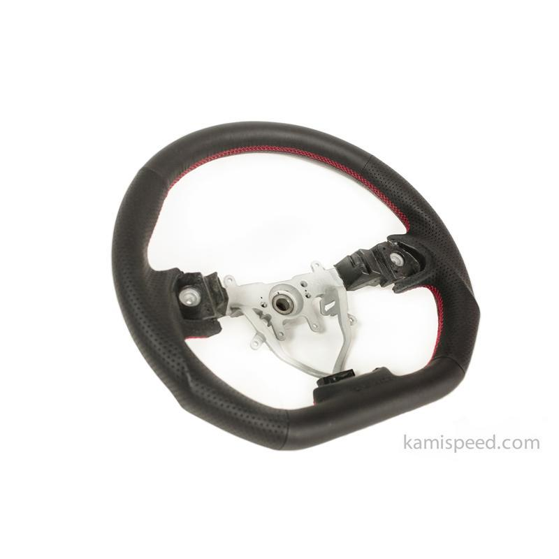 DAMD D-Shaped Red Stitch Steering Wheel GR, GH, SH