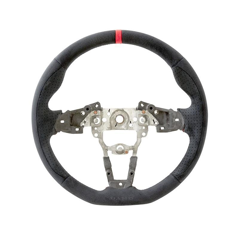 DAMD D-Shaped Suede Steering Wheel for 2016+ Mazda MX-5 Miata