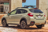 Rally Armor 13+ Subaru XV Crosstrek Black Mud Flap w/ Grey Logo