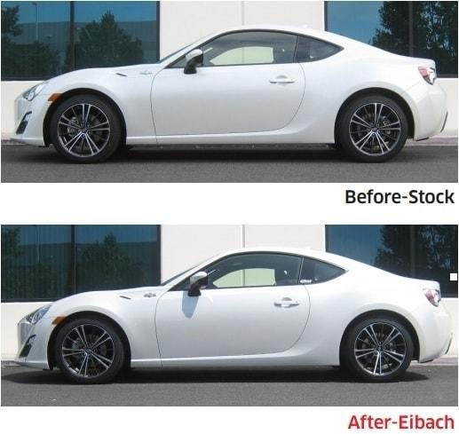 Buy The Eibach Pro Kit Performance Springs For The Scion
