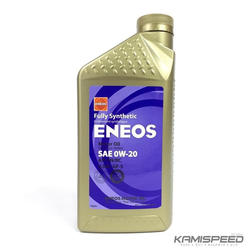 Eneos 0W20 Synthetic Motor Oil 6Q