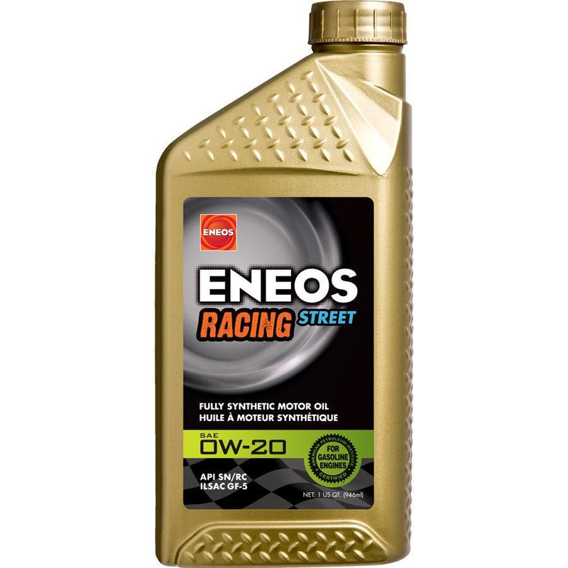 ENEOS Racing Street Motor Oil 0W20 | 1 Quart Bottle