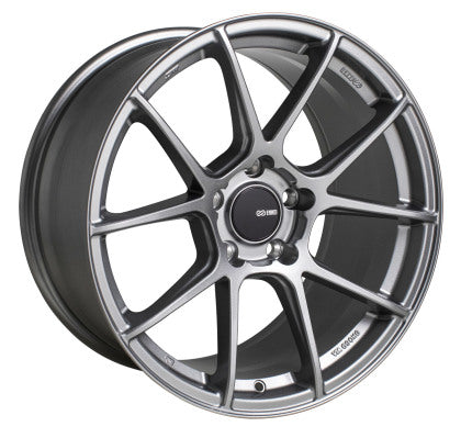 Enkei TS-V 18x9.5 5x120 +40 Wheel in Storm Grey