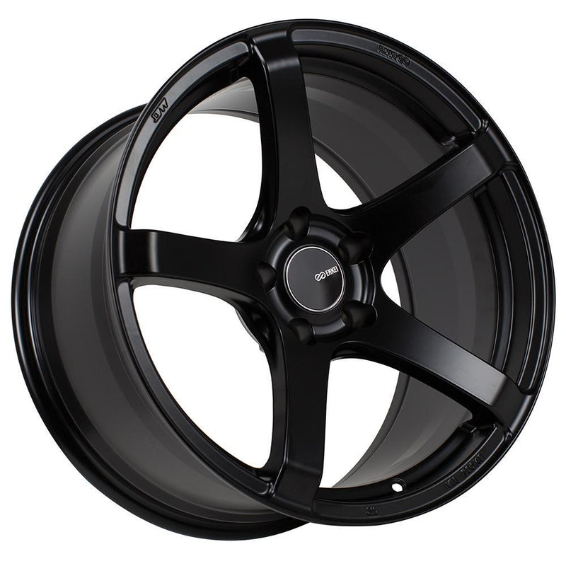 Enkei Kojin Matte Black 18x9.5 +35 5x120 for Civic Type R