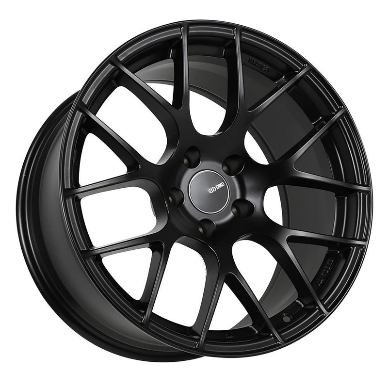 Enkei Raijin Black 18x9.5 +35 5x114.3 for 15+ WRX STI