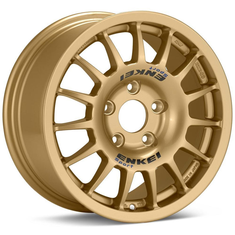 Enkei RC-G4 15x7 5x100 +50 Rally Wheel in Gold