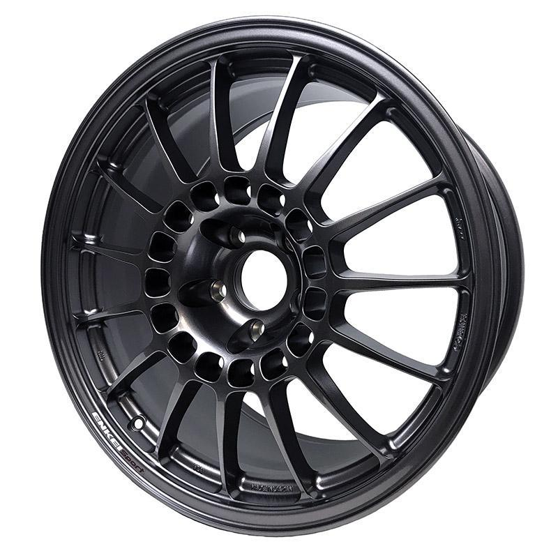 Enkei Sport RC-T 5 18x9 +40 5x114.3 with Dark Silver