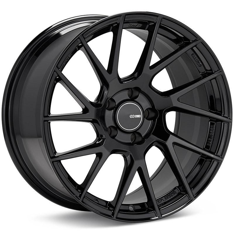 Enkei Tuning Series TM7 Wheel for 17x8 +45 5x114.3 in Gloss Black